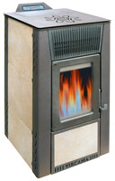 Stufa a pellet ceramica All-Stove