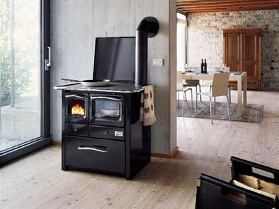 Bioterm stufe e cucine a legna - Stufa a pellet per cucinare ...
