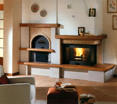 Bioterm riscaldamento utilizzando prodotti ecocompatibili - Forno a legna cucina moderna ...